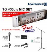 Beyerdynamic mikrofon TG-v35ds MIC SET profesjonalny zestaw