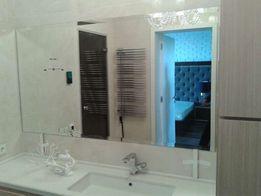 Монтаж, поклейка зеркал и стекольных изделий