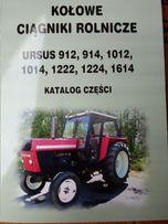 Katalog części U-912, 914, 1012, 1014, 1222, 1224, 1614