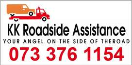 Roadside Assistance - Flat tyre/Petrol/Jumpstart/Mobile Tyre re