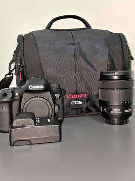 CANON EOS 7D MARK II WITH EFS 18-35MM LENS