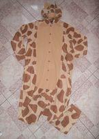 kostium przebranie pizama z polarku ŻYRAFA R. S/M