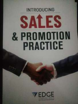 Sales and promotion practice textbook