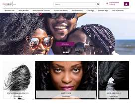 eCommerce Hair & Weave Store | 100+ Products