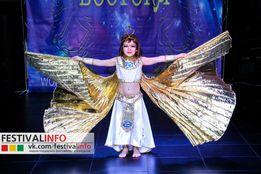 Египетский восточный костюм для танцев или карнавала