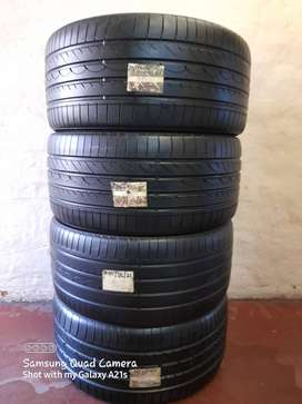 Brand New set of tyres 295/35/21 continental tyres