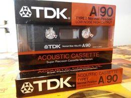 кассета TDK A90 (1986 Япония)