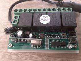 Безпровідне реле 4 канали G90R 433 МГц + Блок живлення 12В