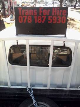 Bakkie/Hire Removals