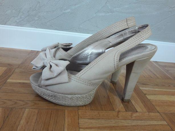 Sandały koturny buty Koluszki - image 2
