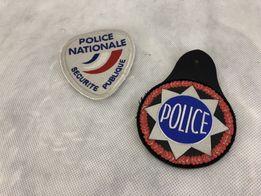 Emblematy naszywki mundurowe francuskie kolekcjonerskie