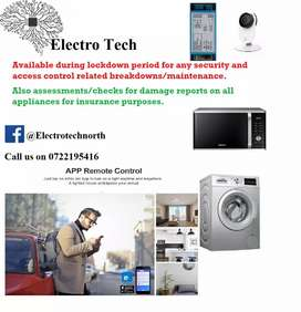 Security services and Home Automation