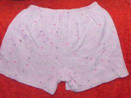 шорты хлопок розовые