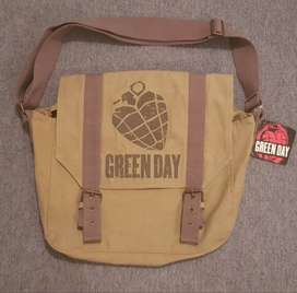 Green Day Book Bag
