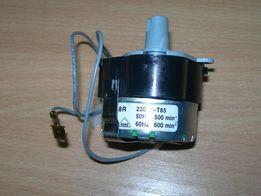 Мини электромотор M48R с редуктором для льдогенератора.