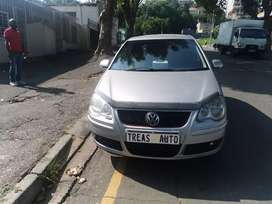VW POLO WITH AN ENGINE CAPACITY OF 1, 4