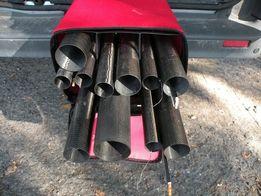 Pokrowiec na tyczkę+zestaw topów 6-komorowy, długość 183cm