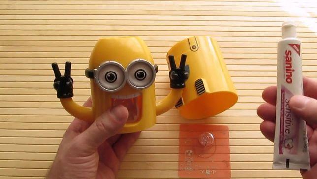 Дозатор подставка для зубной пасты Миньон Одесса - изображение 4