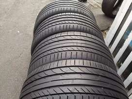Set of 18 inch continental runflats BMW tyres for sell