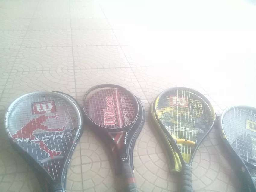 TENNIS RACKET with covers for sale 0