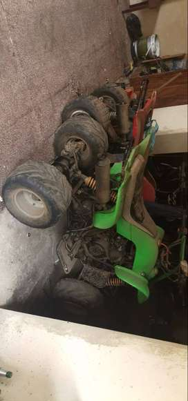 2 Quad Bikes(Non Running) to swap For Any Car