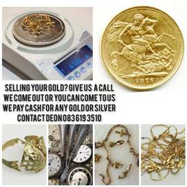 Selling your Gold? We buy Gold and silver