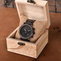 Drewniany zegarek BOBO BIRD Q26-1Bobobird 24H wysyłka PL