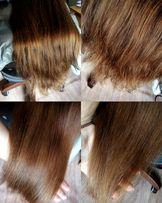 Полировка волос+стрижка волос