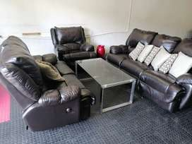 Recliners Full Round Genuine Leather Couches
