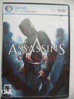 2 DVD-диска с игрой Assassin's Creed и Космические рейнджеры (для РС)
