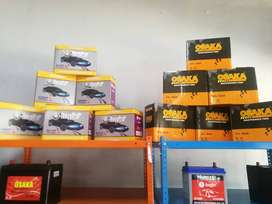 Fully Equipped Battery shop/Franchise for sale