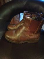 Ботинки демисезонные кожа Timberland