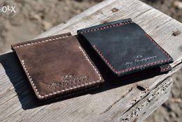 Зажим для денег.Именной кошелёк.Кожаный кошелёк своими руками.Зажим.
