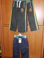 spodnie chłopięce roz.98/104/110 Mothercare Smyk ocieplane