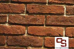 Stara Cegła - kolor Naturalny - Płytki Ceglane na Ścianę , Stare Cegły