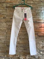 Białe spodnie NOWE roz. 36