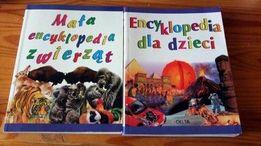 Mała encyklopedia zwierząt i Encyklopedia dla dzieci