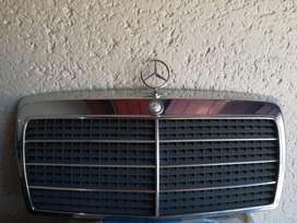 W124 Grill and Hood Ornament