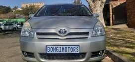 TOYOTA COROLLA VERSO 1.8 AUTOMATIC WITH SUN ROOF