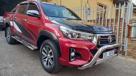 2019 Toyota Hilux 2.8 GD6 Double Cab 4x4 Raider Automatic for sale.