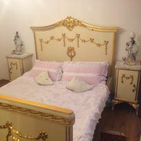 Antyczna sypialnia komplet + stolik z krzesłami ,biurko i lustro