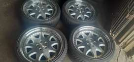 A set of mage 5x112 tyres sizes 225/30/20and 255 /30/20 now available