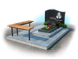 Памятники, благоустрій поховань роботи на кладовищі.