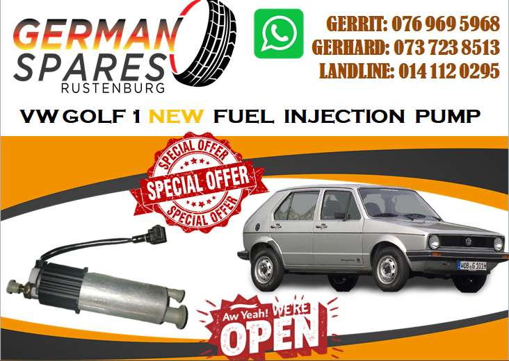 VW GOLF 1 NEW FEUL INJECTION PUMP FOR SALE