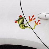 Наклейки лягушка украшения, 3D, на зеркала, кузов, двери лягушка