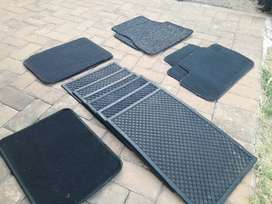 Car rubber mats/variety of types