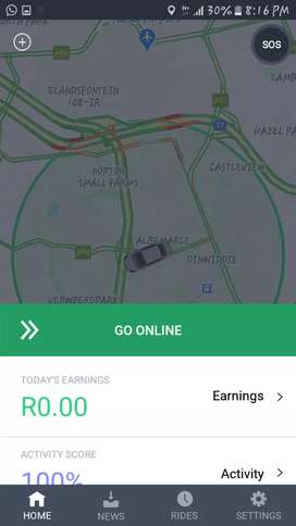 Bolt/ Taxify driver