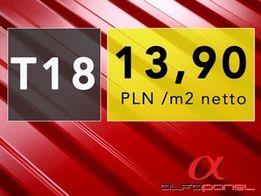 Blacha trapezowa kolor TR-18 cena tylko 13,90 pln