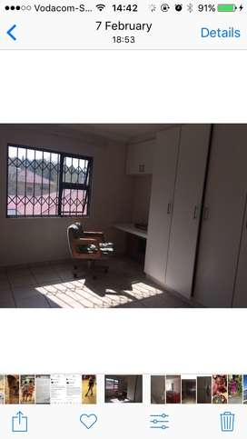 Room 2 rent in a 2 bedroom flat in Alberton North Karen Place 6th Ave.
