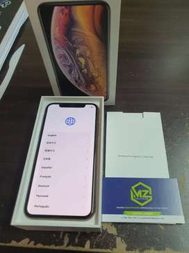 Apple iphone xs 256gb gold immaculate condition